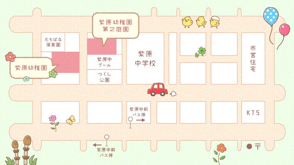 紫原幼稚園マップ